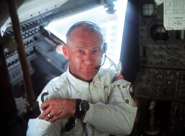 Пилот лунного модуля «Аполлон-11» Базз Олдрин.