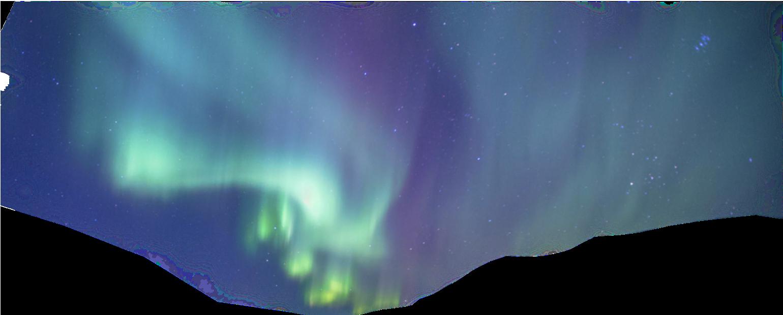 космос северное сияние онлайн