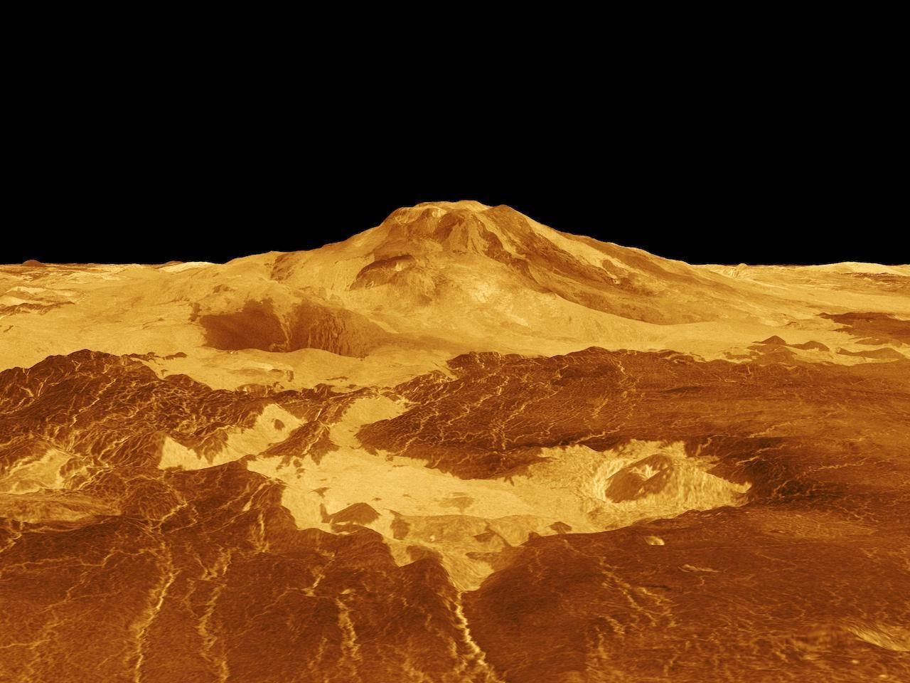 Вулкан Маат Венера