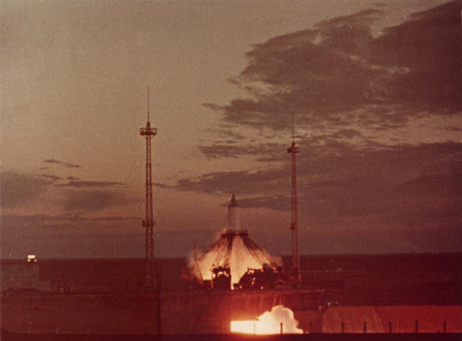 «Спутник-1» запуск